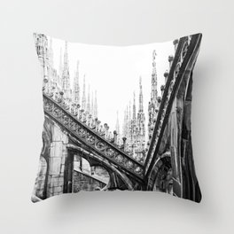 Spires Throw Pillow