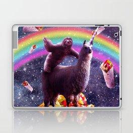 Sloth Riding Llama Laptop & iPad Skin
