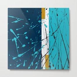 Turquoise dreams Metal Print