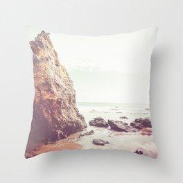 Malibu,beach photography, Los Angeles, beach, seaside, California, surf, California ph Throw Pillow