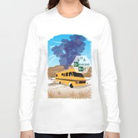 lab Long Sleeve T-shirts featuring Breaking Bad Lab by famenxt