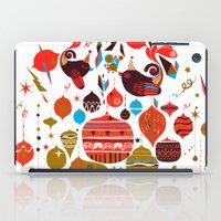 xmas iPad Cases featuring xmas by echo3005