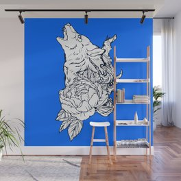 Wolfous Wall Mural