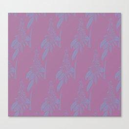 Blurred Flower Canvas Print