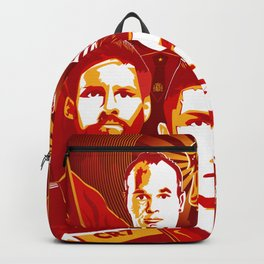 Russia football poster Backpack