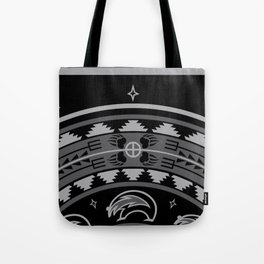 Bear Spirit (Gray) Tote Bag