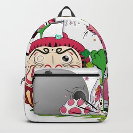Maneki-neko in the magical world Backpack