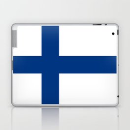 Flag of Finland - High Quality Image Laptop & iPad Skin