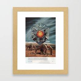 intimidating Framed Art Print