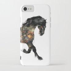 Horse (Distant Galaxy) iPhone 7 Slim Case