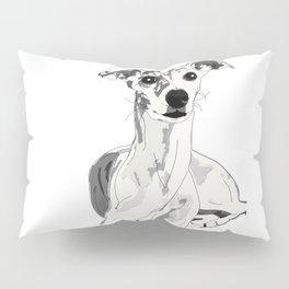 Greyhound Family Dog Pillow Sham