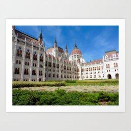 Parliament of Budapest Art Print