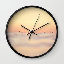 Maui Surfers Wall Clock