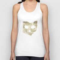 ohio state Tank Tops featuring Ohio Skull by Will Ruocco