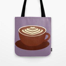 Cafe Latte Tote Bag