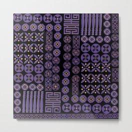 The Magical Ultra violet Metal Print