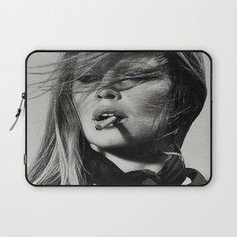 Brigitte Bardot Smoking Laptop Sleeve