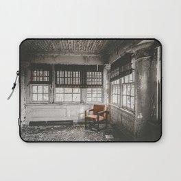 Abandoned School Lounge Laptop Sleeve
