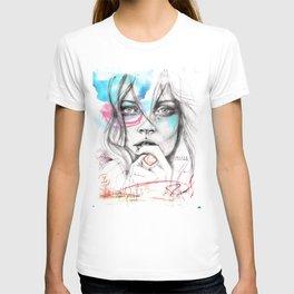 Kate Moss by Leo Tezcucano T-shirt