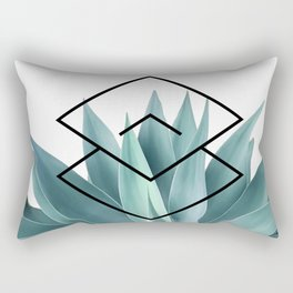 Agave geometrics IV Rectangular Pillow