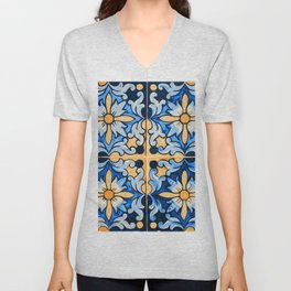 Floral Dream Unisex V-Neck