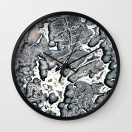 Chemigram 01 Wall Clock