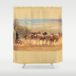 Days In The Dust Shower Curtain