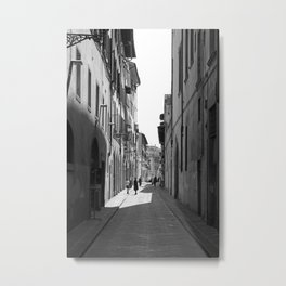 Vicolo di Firence Metal Print
