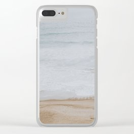 by the shore ii / san francisco, california Clear iPhone Case