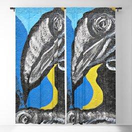 Two Toucans Blackout Curtain