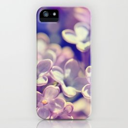 Spring 301 lilac iPhone Case