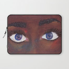 She Sees Through Universes Laptop Sleeve