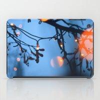 fireflies iPad Cases featuring Fireflies by Den Brooks