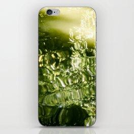 Reflecting Greens iPhone Skin