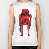 marijuana Biker Tanks featuring Marijuana trooper by kakin