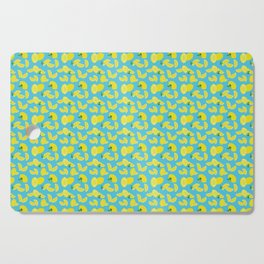 Lemoncello Teal Cutting Board