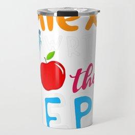 Alexa Write My IEP Funny Teacher Gift For Men Women  T-Shirt Travel Mug