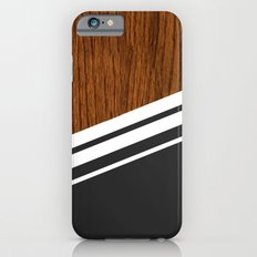 Wood StYle black Slim Case iPhone 6
