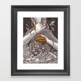 Bičiulis Framed Art Print