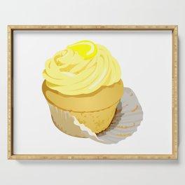 Lemon Cupcake Serving Tray