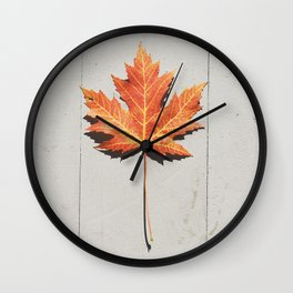 Fall bliss Wall Clock