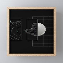 Keep on track Framed Mini Art Print