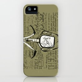 Tomé demasiado - Pappo Blues iPhone Case