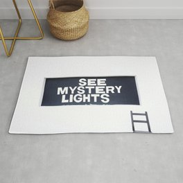 See Mystery Lights Marfa Rug