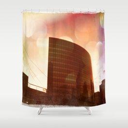 Hartford CT: Phoenix Building Shower Curtain