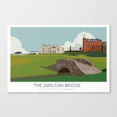 Swilcan Bridge Canvas Print