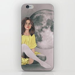 Talking to the Moon iPhone Skin