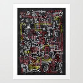 Tezveren Art Print