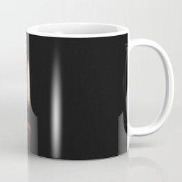 Flickering Candle in Darkness Coffee Mug
