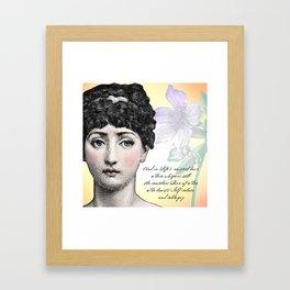 Poetry Girls: Fornasetti Girl Framed Art Print